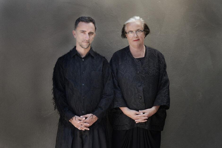 curators Lidewij Edelkoort & Philip Fimmano - photo by Thirza Schaap